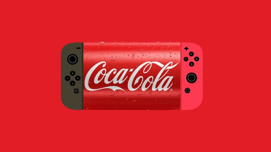 Random: Even Coca-Cola Is Getting In On The Switch Pro Hype 1