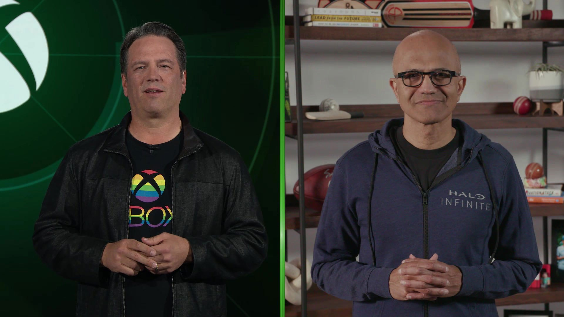 """Satya Nadella and Phil Spencer on Why Microsoft is """"All In"""" on Gaming 1"""
