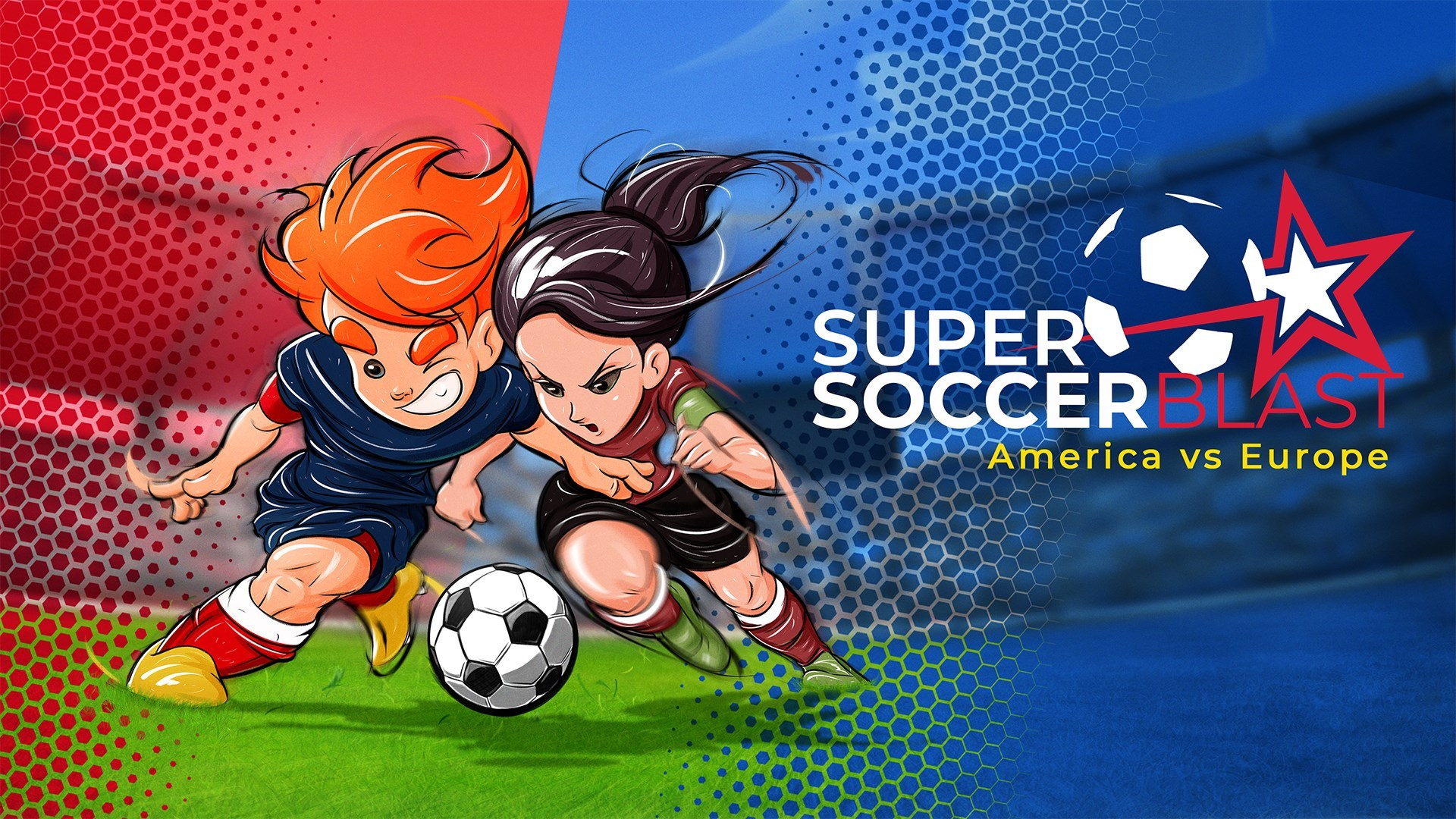 Super Soccer Blast: America vs Europe Is Now Available For Digital Pre-order And Pre-download On Xbox One And Xbox Series X S 1