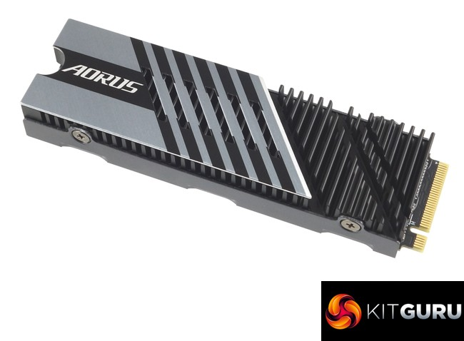 The Beefy Gigabyte Aorus 7000s PCIe 4.0 NVMe Drive 3