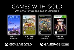Xbox Games with Gold July lineup announced 2