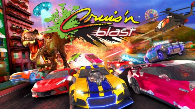 Yes, Cruis'n Blast Is Getting A Physical Release On Switch 2