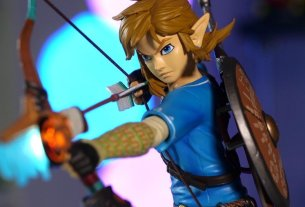 Gallery: First 4 Figures' Zelda: Breath Of The Wild Link Takes Aim 4