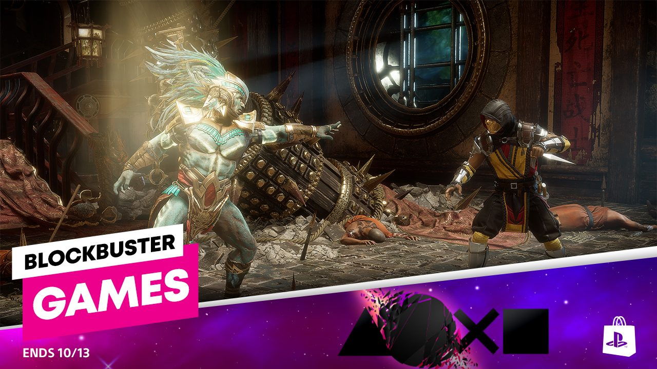 Blockbuster Games promotion comes to PlayStation Store 1