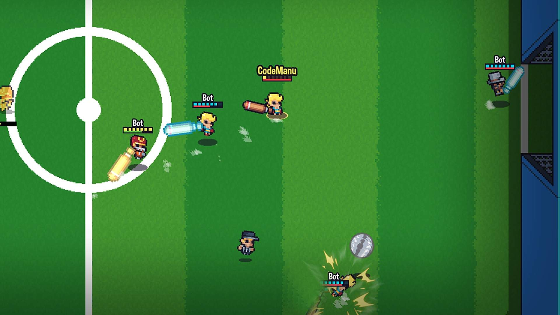Guts 'N Goals Brings Couch Co-op Soccer with Baseball Bats to Xbox Today 1