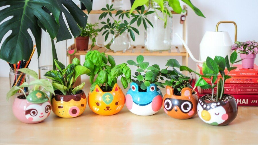 Random: Plant Your Plants In These Animal Crossing Plant Pots 1