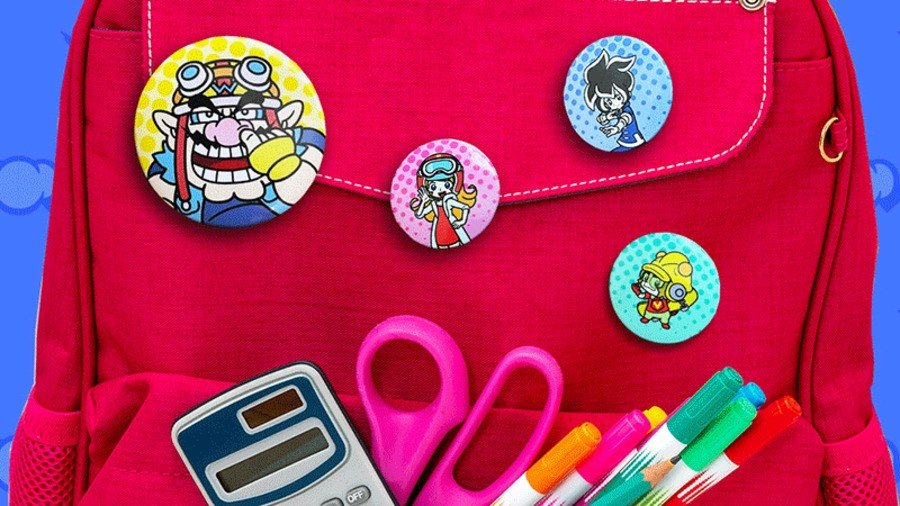 There's A WarioWare: Get It Together! Button Pin Set Up For Grabs On My Nintendo (US) 1