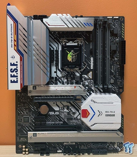 Well Gundam! That's One Seriously Branded ASUS Z590 Board 1