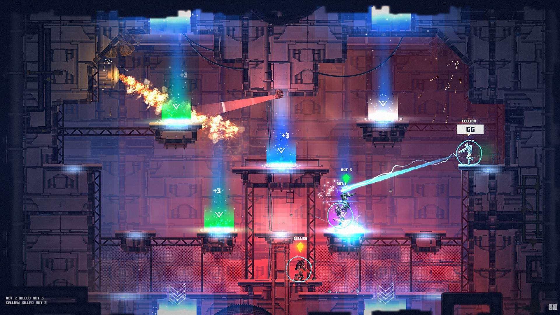 How the 2D Arena Shooter AlphaLink Went From Local to Online During a Pandemic 1