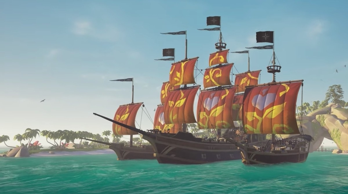 Sea of Thieves' latest charity sails are raising money for No Kid Hungry 1