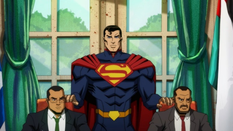 Watch This Exclusive Clip Of Superman Wrecking Things In Injustice 1