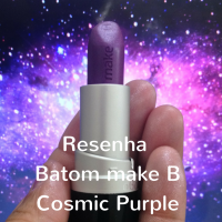 Resenha: Batom Cosmic Purple - Make B