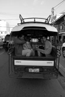 De ruta por Vientiane.