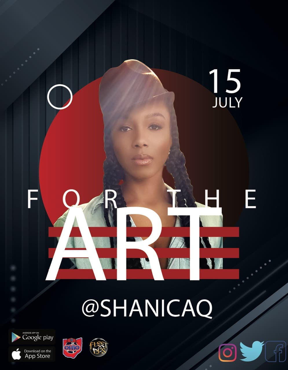 For The Arts Featuring Shanica Q