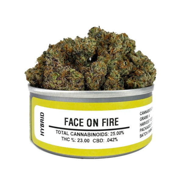 Buy Face on Fire budcans | #1 Best face on fire strain smart bud (smartbud) cans online