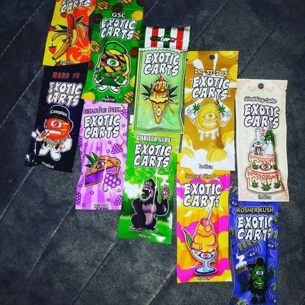 Buy real exotic carts for sale | Best Cartridges Online |exotic carts fake