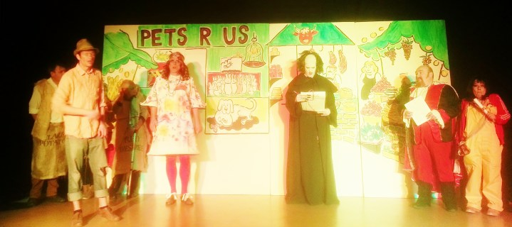 Puss in Boots - December 2013 - the reading of the will