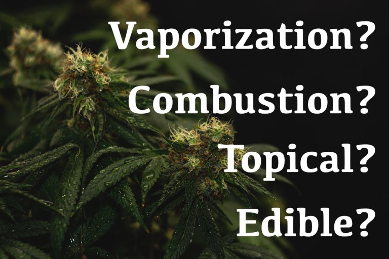 Learn about the various methods for cannabis use to determine which is best for you.