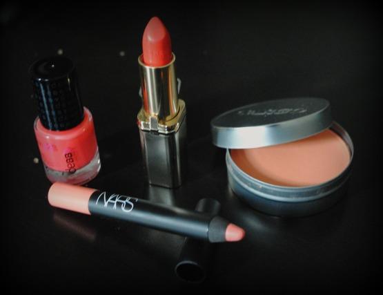 maquillage abricot