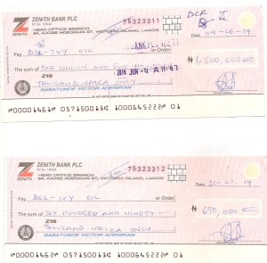 My Cheques