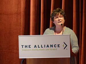 Lynn Zonakis at March ALC