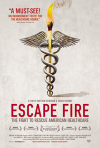 Escape Fire movie poster