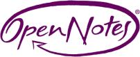 Open Notes logo