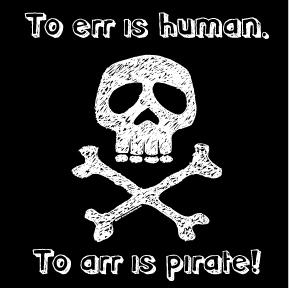 September 19, 2021:  Speak Like a Pirate Day
