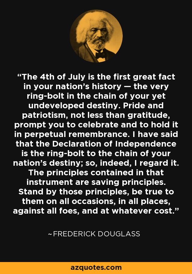 Quotes Suitable for Framing:  Frederick Douglass