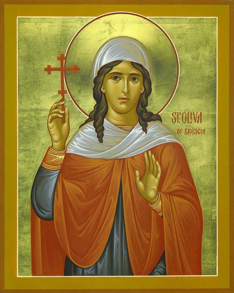 Saint of the Day Quote: Saint Oliva of Brescia