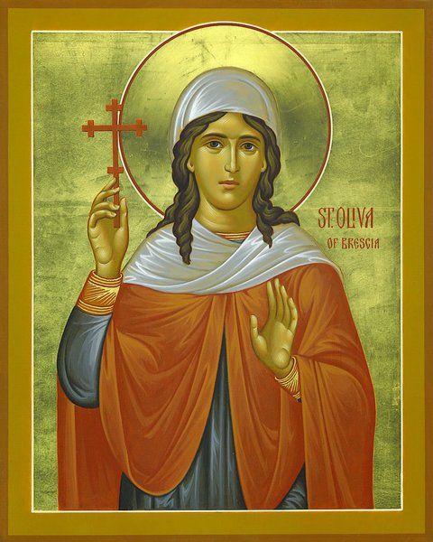 Saint of the Day Quote: Saint Oliva of Brescia