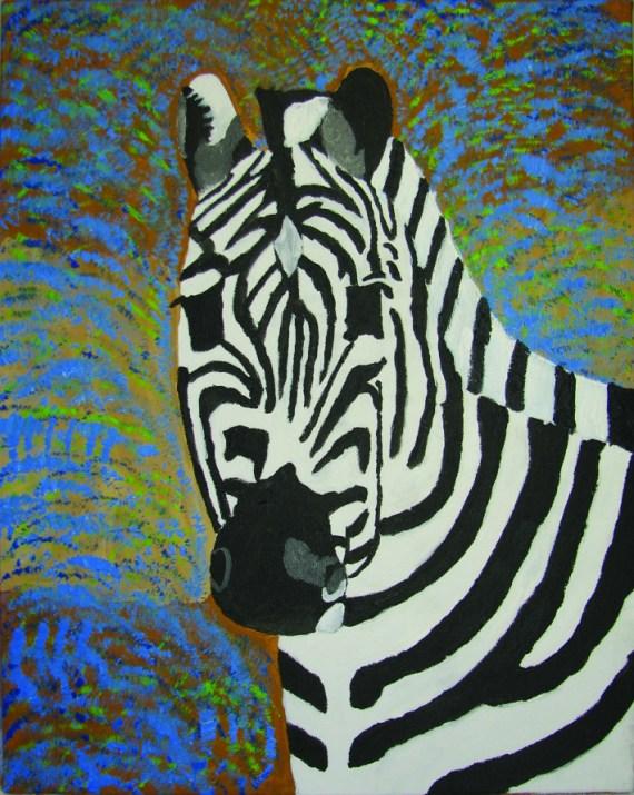 "Andrew Mendoza ""Zebra"""