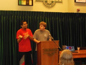 Chris and Shane