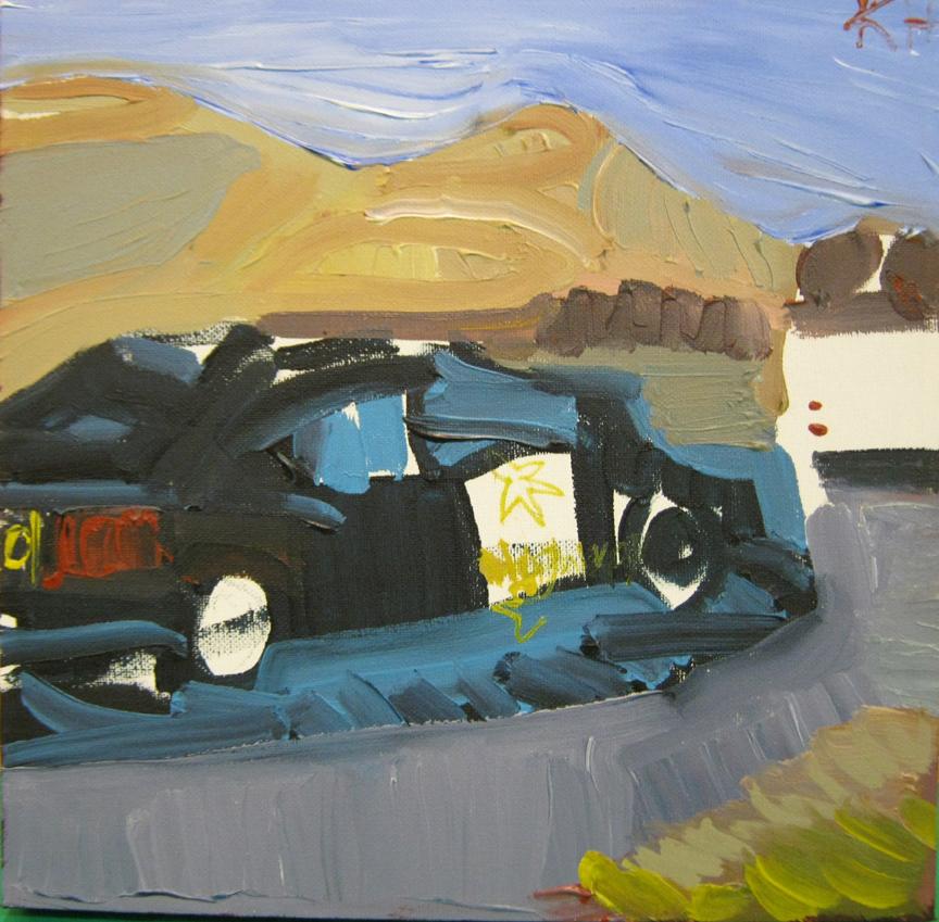Kevin Hosseini Sheriff's Car