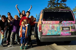 Bill Wong and the Chalk Mobile will be at the Autismhwy.com Chalk Festival April1 12