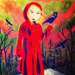 April Dawn Griffin Self-portrait