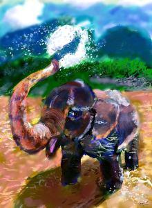 "Ori Bengal ""Elephant"""