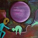 Giant Purple Planet Debbie Denenburg