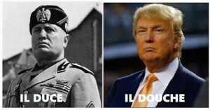 "Il Duce """"O con noi o contro di noi"" Translation ""You are either with us or against us"""