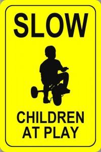 slowchildrenatplay