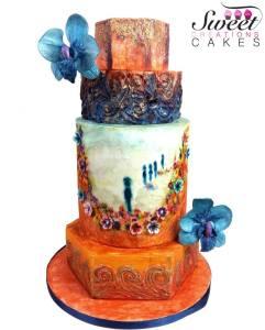 Cake Artist: Bouchra Mirir of Sweet Creations Cakes