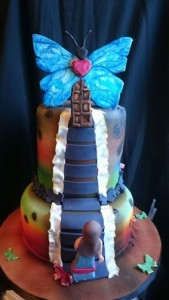 Ann Butler from Live it Cakes was inspired by Ryan Smoluk's art
