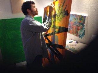 Jeremy painting
