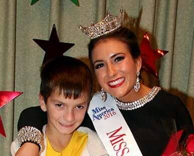 Amanda Rae Ross with her brother