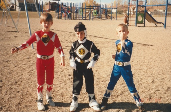 I was the Black Ranger