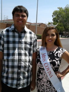 Kevin Hosseini with Miss Covina 2017