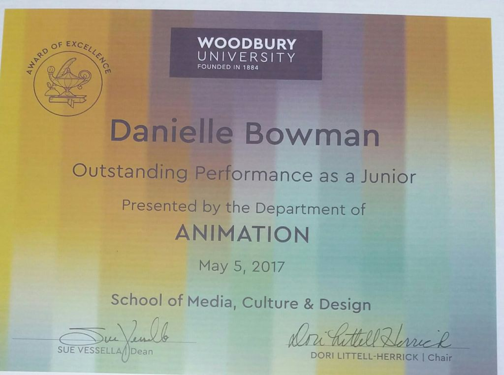 Dani Bowman Outstanding Performance