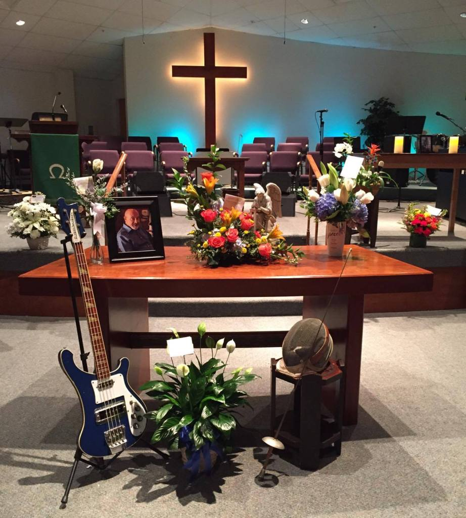 Steve's memorial