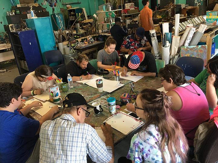 Group Art Class