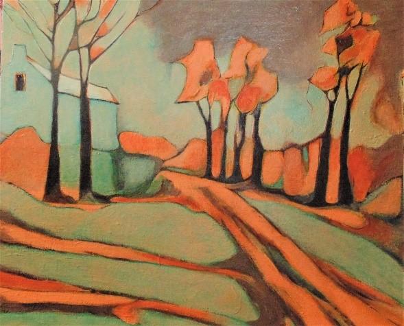Kimberly Tucker Impressionistic landscape
